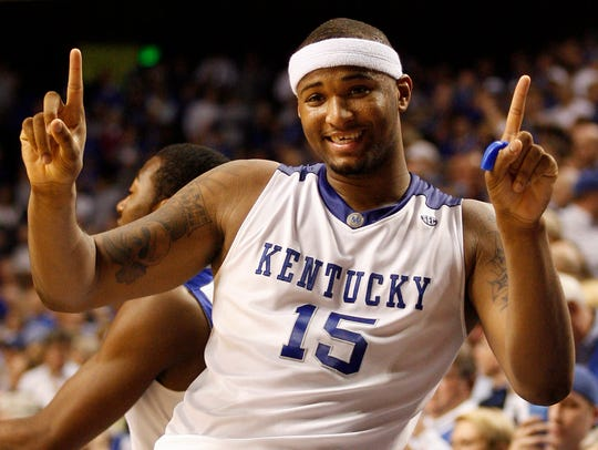 DeMarcus Cousins was a force to be reckoned with in his lone season at UK.
