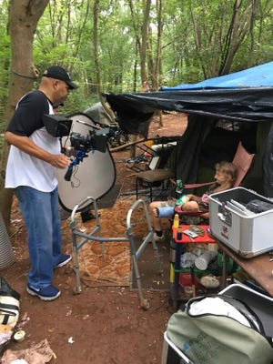 """Jeff Akers' film """"Homeless in the South"""" will be screened at the Peace Center June 29."""