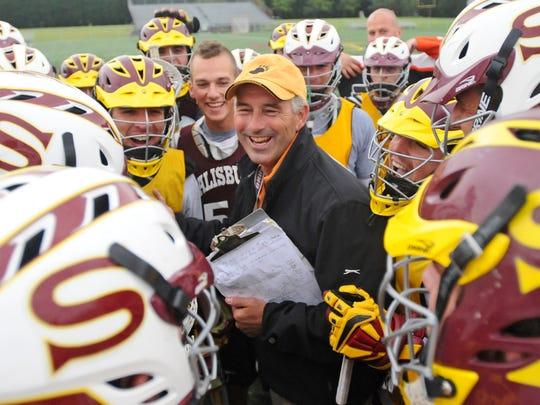 Salisbury University men's lacrosse coach Jim Berkman