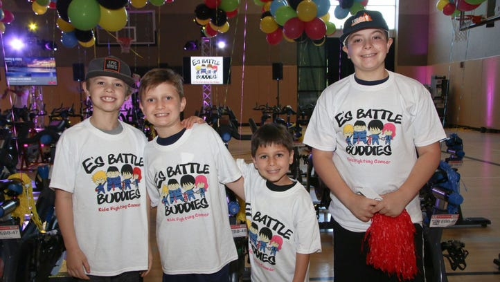 Tye, Peter, Jack, Nico. E's Battle Buddies hosted a