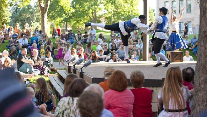 The Utah Shakespeare Festival's Green Show celebrates 50 years.