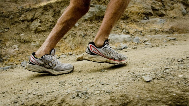 """Vic Gainer, 76, stopped running in 2001 after injuries took a toll on his body after running over 20 marathons. But recently decided to start again after he read a book """"Born to Run"""" about the Tarahumara indigenous people of the Copper Canyon in San Luis Potosi, Mexico."""