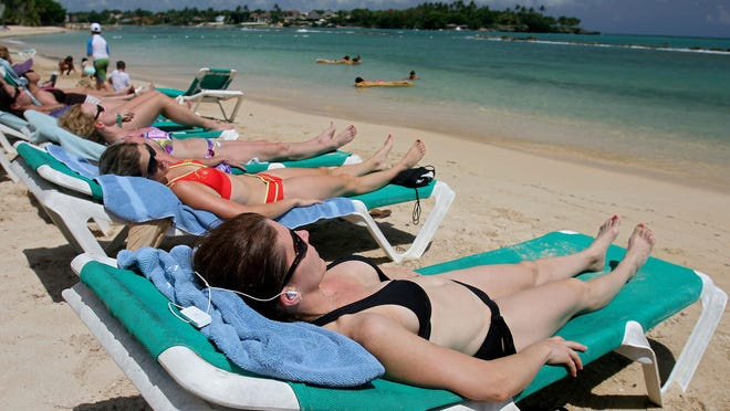 Medical experts say that there is no safe way to sunbathe and that tanned and sunburned skin is harmful and unhealthy. Too much exposure to the sun without protection can lead to skin cancer.
