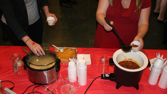 More than 80 real estate professionals and some members of the public were welcomed to try 15 different types of chili at the Association office.