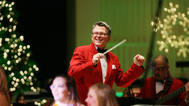 John Morris Russell at a previous holiday pops concert.