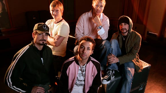 USP ENTERTAINMENT: BACKSTREET BOYS E ENT USA NY