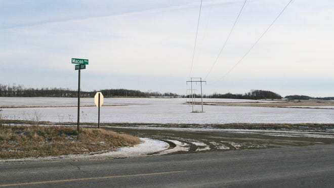 This field at the southeast corner of Pennington Road and Macon Highway could become part of a proposed solar farm project in Macon Township.