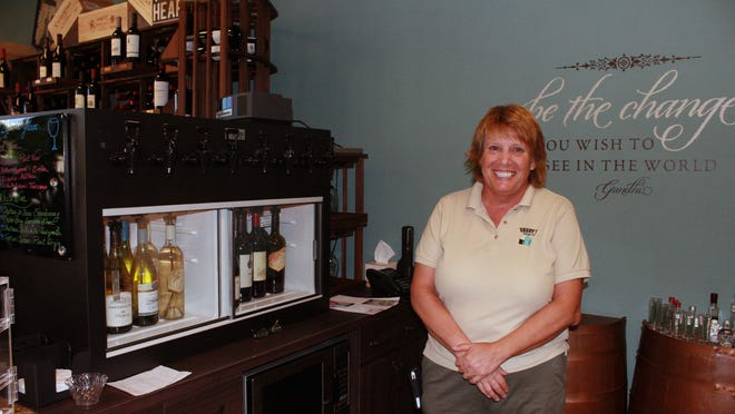 Kate Keillor is co-owner of the new Dagny's Spirits in Naples.