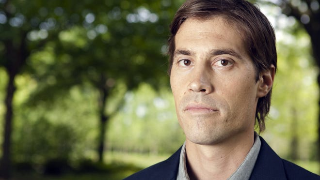 James Foley was embedded with the Indiana National Guard's 76th Infantry Brigade Combat Team in Iraq in 2008.
