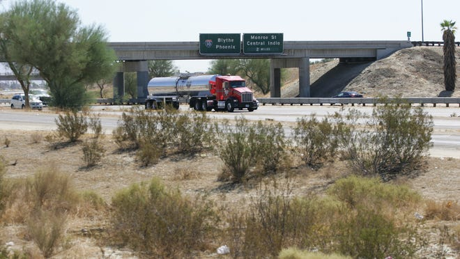 The Interstate 10 interchange at Jefferson Street, seen in a 2009 file photo, is set to receive $68 million in improvements that could be pushed back unless Congress shores up the federal Highway Trust Fund.