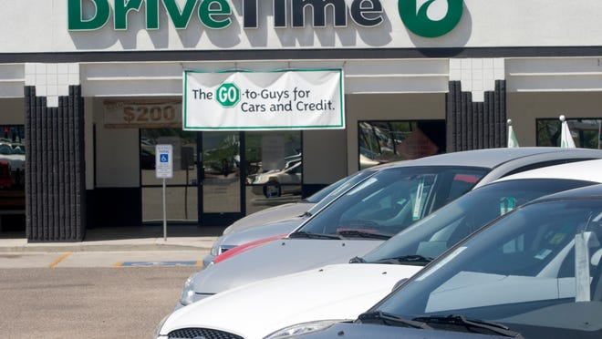 DriveTime, a Phoenix-based chain of used-vehicle dealerships, has been fined $8 million and ordered to clean up its credit and collection practices.