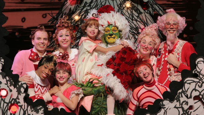 "Dr. Seuss' ""How the Grinch Stole Christmas! The Musical!"" comes to Hammons Hall for the Performing Arts for several performances."