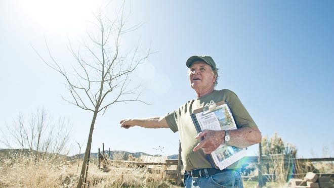 Parowan City Shade Tree Commission Chairman Vern Fridley talks about the trees of Parowan.