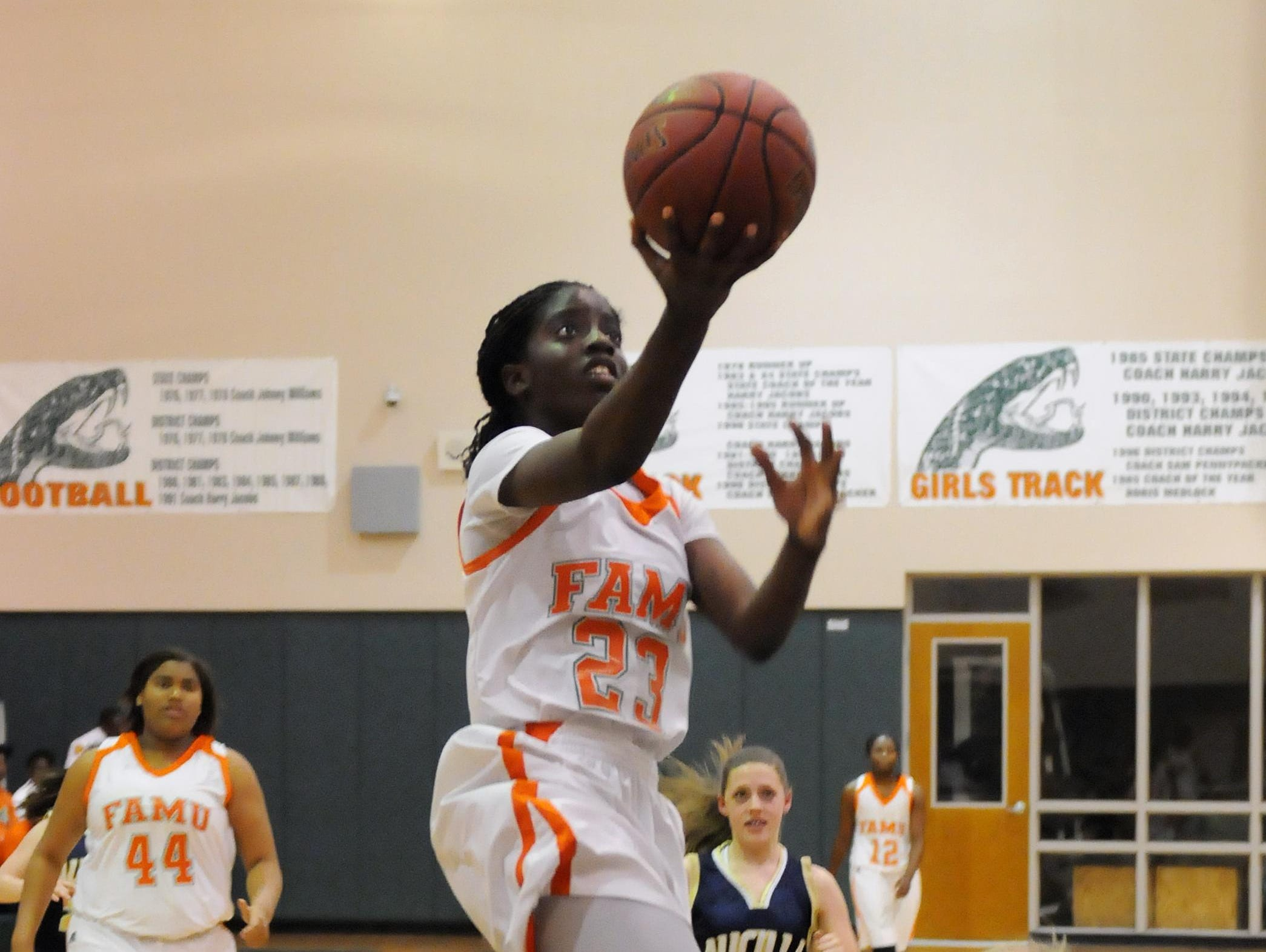 FAMU DRS senior Jazmine Jones has been starting for some time at the school, dating back to even playing her first varsity game for the Rattlers in sixth grade. Jones and the Rattlers will be out for yet another state title this season.