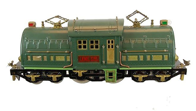 This Lionel 381E Bild-A-Loco Train Locomotive realized $550 during a 2013 auction.