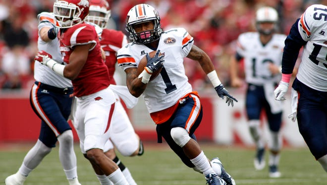 UT Martin's Najee Ray (1), a Henry County grad, will try for some big runs Saturday at Eastern Kentucky.