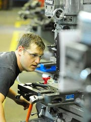 TCAT student Michael Millburg, 31, is working with