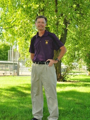 Retiring Webster City cross country coach Tony Bussan.