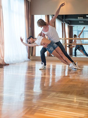 Artem Yachmennikov and Ekaterina Vaganova-Yachmennikovaare owners of the Melbourne City Dance Center in Melbourne