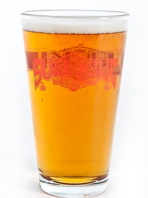 Sun King is now serving pints and flights at their brewery, 135 N. College Ave.