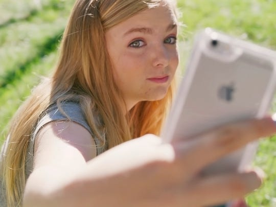 While Bo Burnham's original script referenced Facebook, Elsie Fisher told him that her generation uses Instagram and Snapchat more.