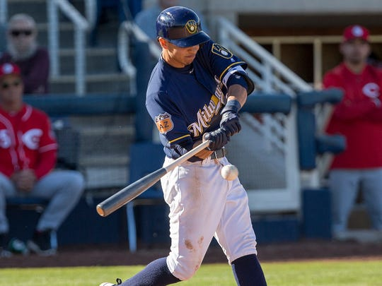 Shortstop Mauricio Dubon led the organization with