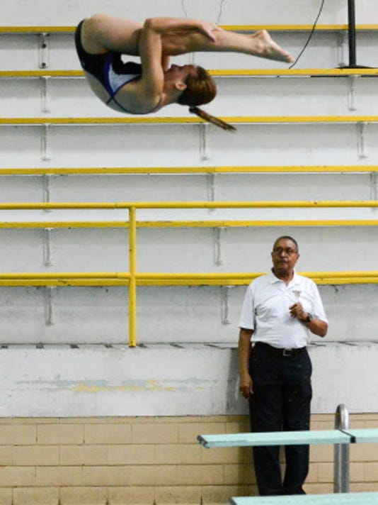 Ronn Jenkins has been a volunteer diving coach at West Chester University since 1972. A 1961 graduate of William Penn, he is a member of the West Chester University and Pennsylvania Swimming Hall of Fame. He was appointed the coordinator of diving officials at the 1996 Olympic Games held in Atlanta, Ga.