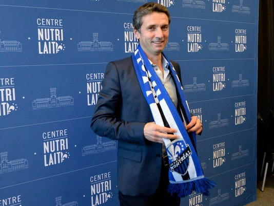 USP MLS: MONTREAL IMPACT-PRESS CONFERENCE S SOC CAN QU