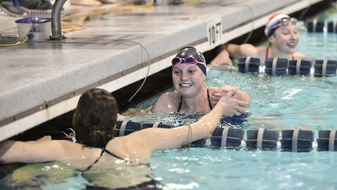 Asheville School sophomore Abby Kriegler will compete in the Speedo Winter Junior National Championships meet which starts Wednesday at Ohio State University.