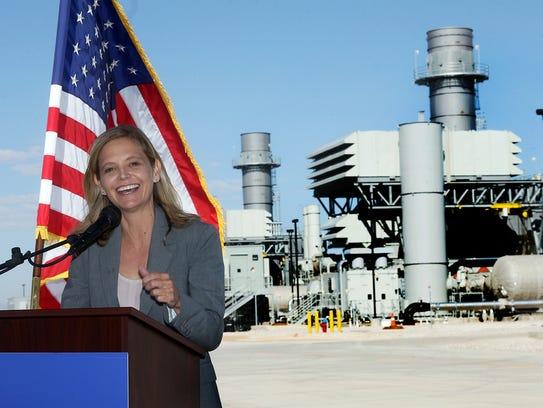 Mary Kipp, CEO of the El Paso Electric Company speaks