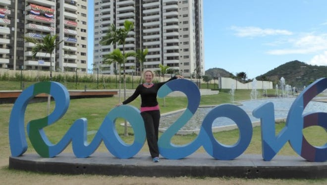 Desert chiropractor Corina Morrison bids farewell to Rio after a fun eight days working at the Olympic Games.