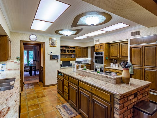 The kitchen at 615 Lake Forbing Drive.