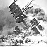Lou Conter was on the quarter deck finishing a change of watch when the USS Arizona was attacked by Japanese forces at Pearl Harbor. After the attack he went on to become a naval pilot and spent the remainder of the war in the South Pacific conducting night air raids on Japanese ships.