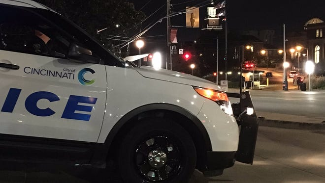 Police presence on and off UC's campus was heightened Monday night after reports of a shooting.