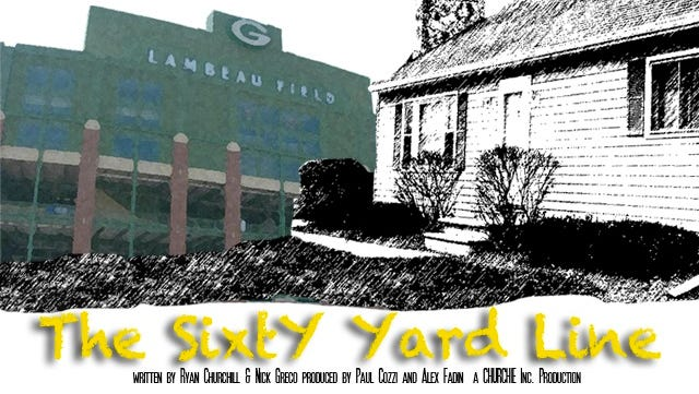 "Romantic comedy ""The Sixty Yard Line"" will begin filming at a house near Lambeau Field in October."