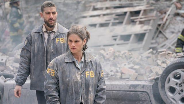 """FBI"" (CBS): Zeeko Zaki (""Valor"") and Missy Peregrym (""Rookie Blue"") play FBI agents assigned to investigate major crimes in New York City."