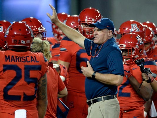 NCAA Football: Washington State at Arizona