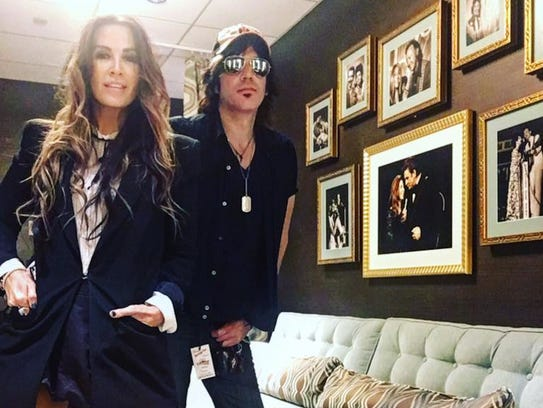 Williams Honor backstage at the Grand Old Opry in Nashville