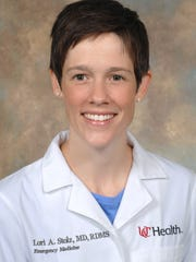 Dr. Lori Stolz, an emergency medicine doctor at University