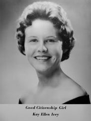 Now Governor Kay Ivey in the 1963 Wilcox County High