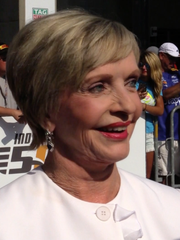 Florence Henderson at the 2016 Indy 500.