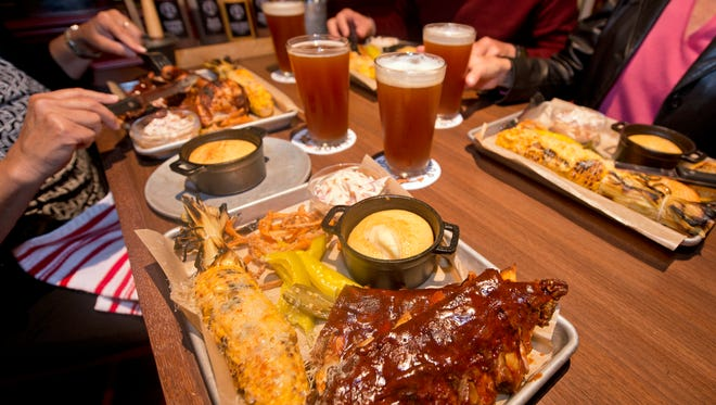 Carnival Cruise Line's new Carnival Horizon boasts a Guy Fieri barcecue eatery and brewhouse called Guy's Pig & Anchor Smokehouse|Brewhouse.
