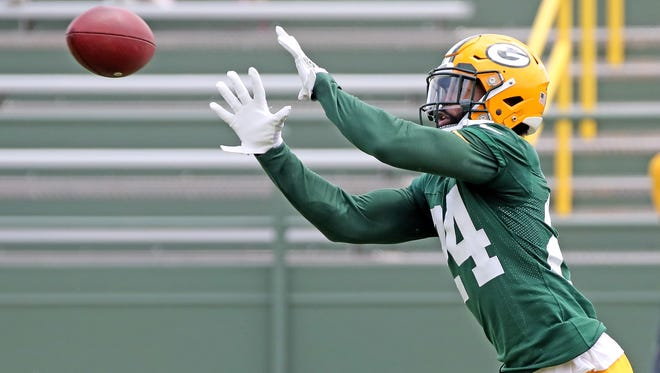 Green Bay Packers cornerback Quinten Rollins (24) during Green Bay Packers minicamp at Ray Nitschke Field Tuesday, June 12, 2018 in Ashwaubenon, Wis.