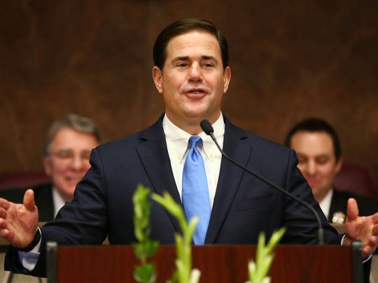 Gov. Doug Ducey gives his State of the State address