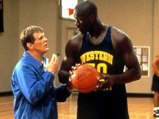 Nick Nolte (left) and Shaquille O'Neal in a scene from