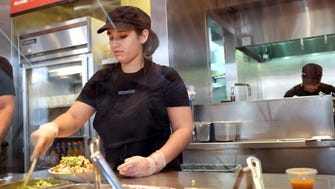 Some restaurants recently have increased their wages to reduce employee turnover.
