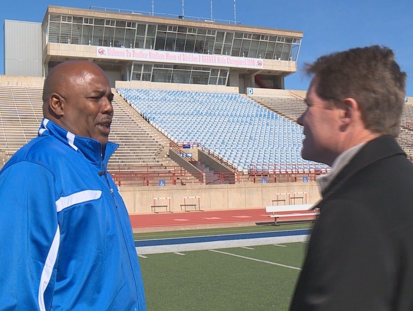 Duncanville's new head coach Reginald Samples