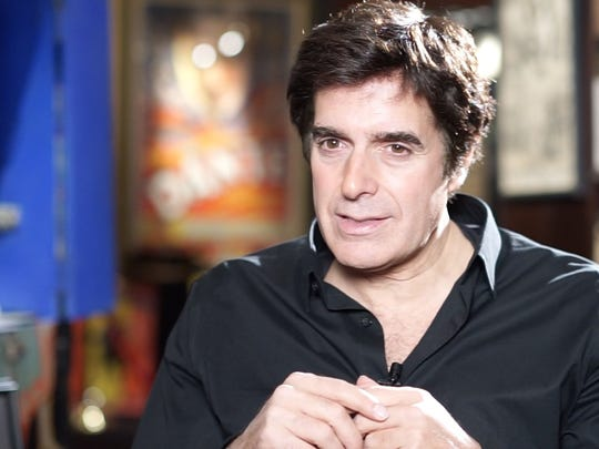 Magician David Copperfield, photographed at his private