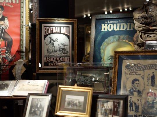 David Copperfield's magic museum in Las Vegas.