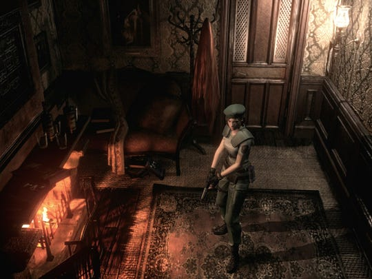 """Expect puzzle solving and lots of backtracking to progress through the Spencer Mansion in the """"Resident Evil HD Remaster."""""""